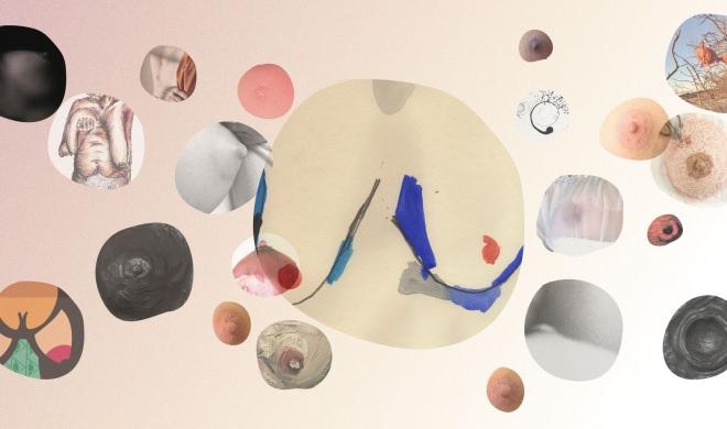 Cem Peitos | Uma galeria viva com obras de artistas plásticas incríveis