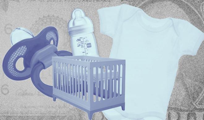 É possível fazer o enxoval do bebê gastando pouco?