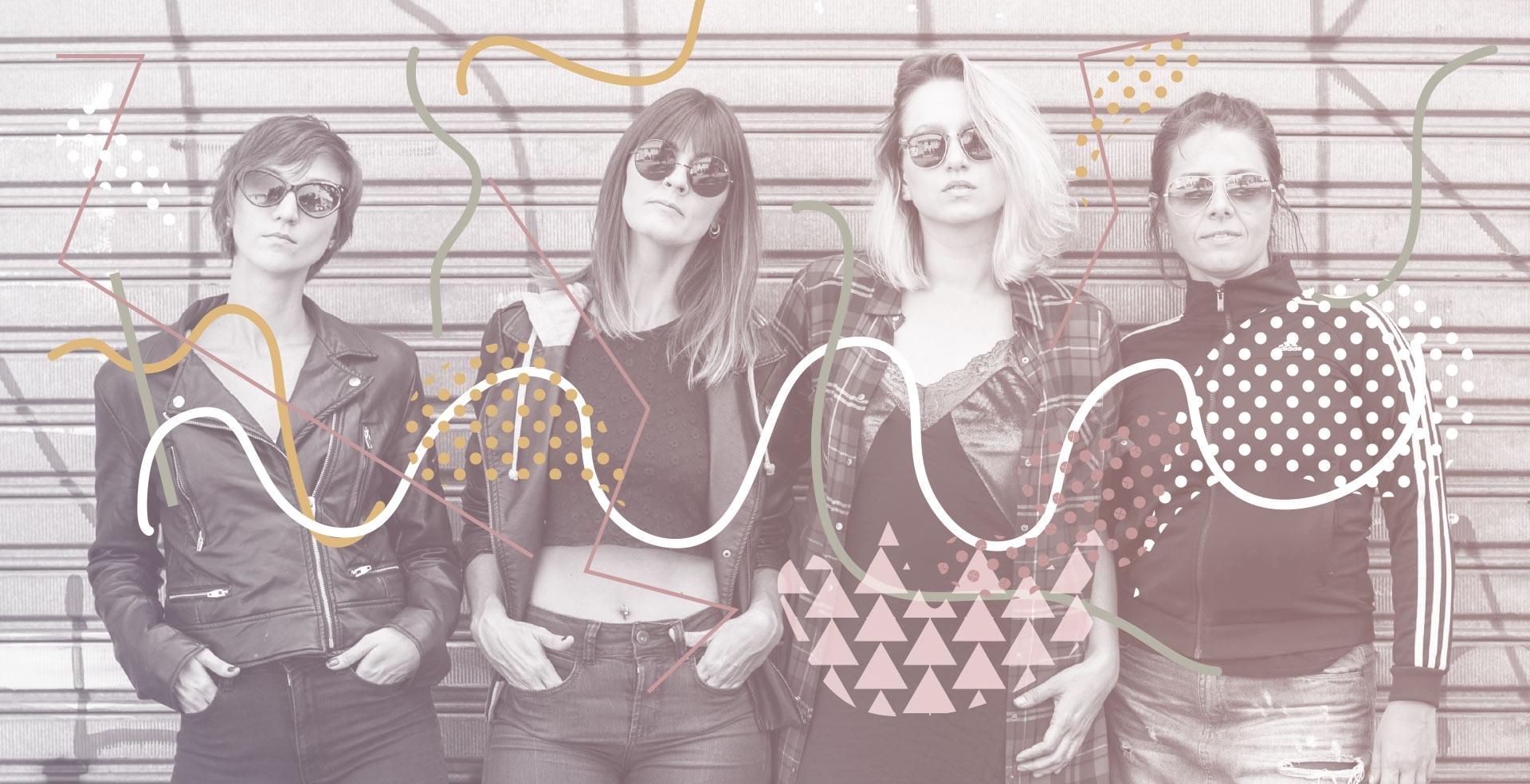 Punk Rock Feminista Festivo, por Banda Quarteta